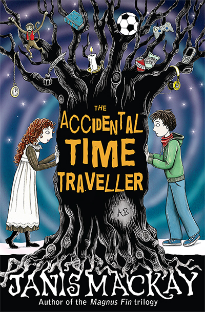 The Accidental Time Traveller by Janis Mackay cover illustration © Nicola L Robinson