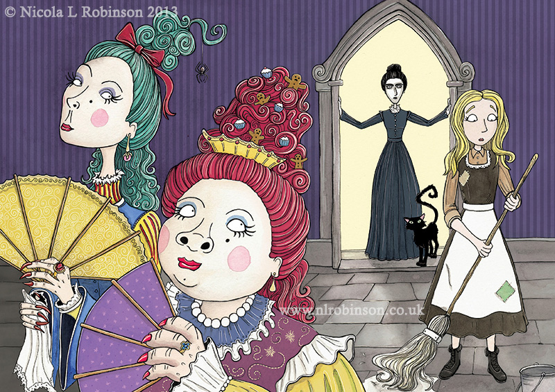 the story of cinderella and her evil stepmother and stepsisters Though strabo's story is one origin of cinderella, a king marrying the owner   the evil stepsisters steal her father's affection and turn her into a.