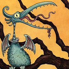 Monster bird tree © Nicola L Robinson